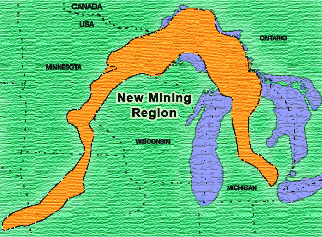 Gold In Michigan Map.Maps Mining Action Group