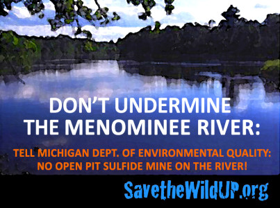 Don't Undermine the Menominee River
